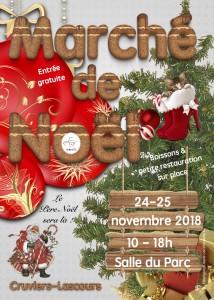 Affiche Marché de Noël 2018